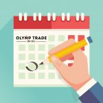 Economic Calendar at Olymp Trade platform
